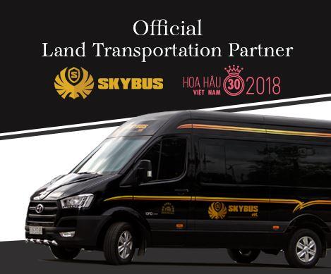 SKYBUS tài trợ cuộc thi Hoa Hậu Việt Nam 2018