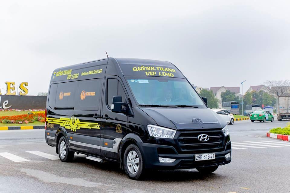 Solati Limousine cực VIP tuyến Hà Nội Lạng Sơn nhà xe Quỳnh Thanh