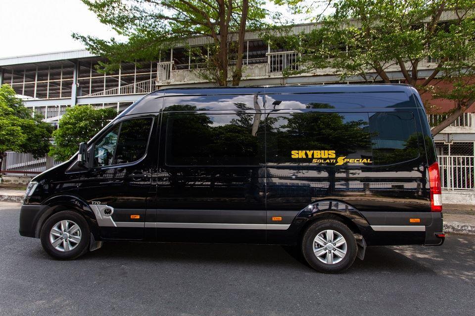 Kham pha Solati Limousine 10 cho SKYBUS Special 2019