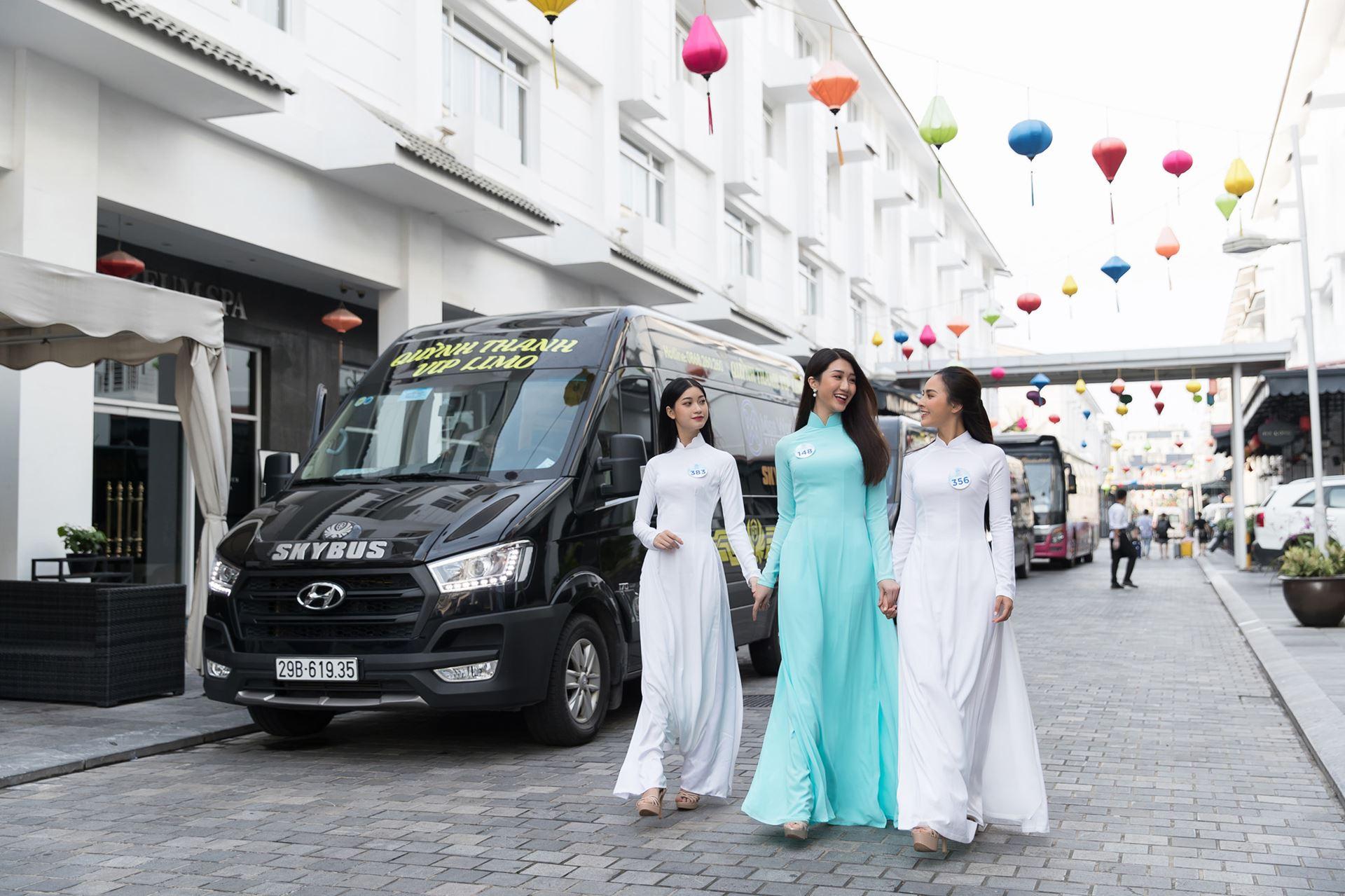Xe limousine Skybus đồng hành cùng Miss World Việt Nam 2019 -2
